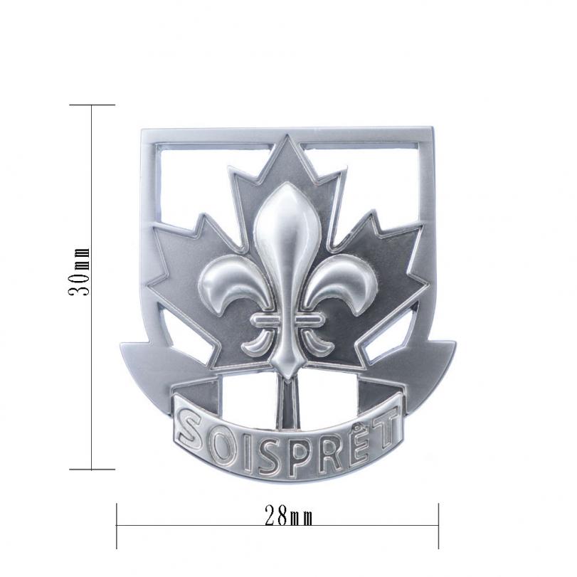 欧美风定制徽章