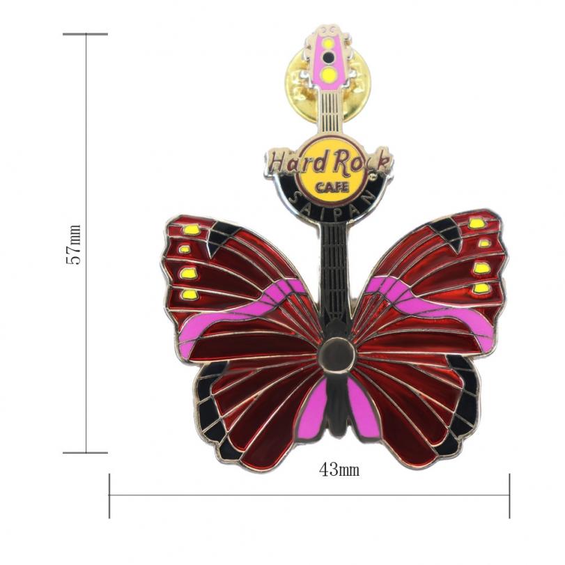 蝴蝶吉他徽章